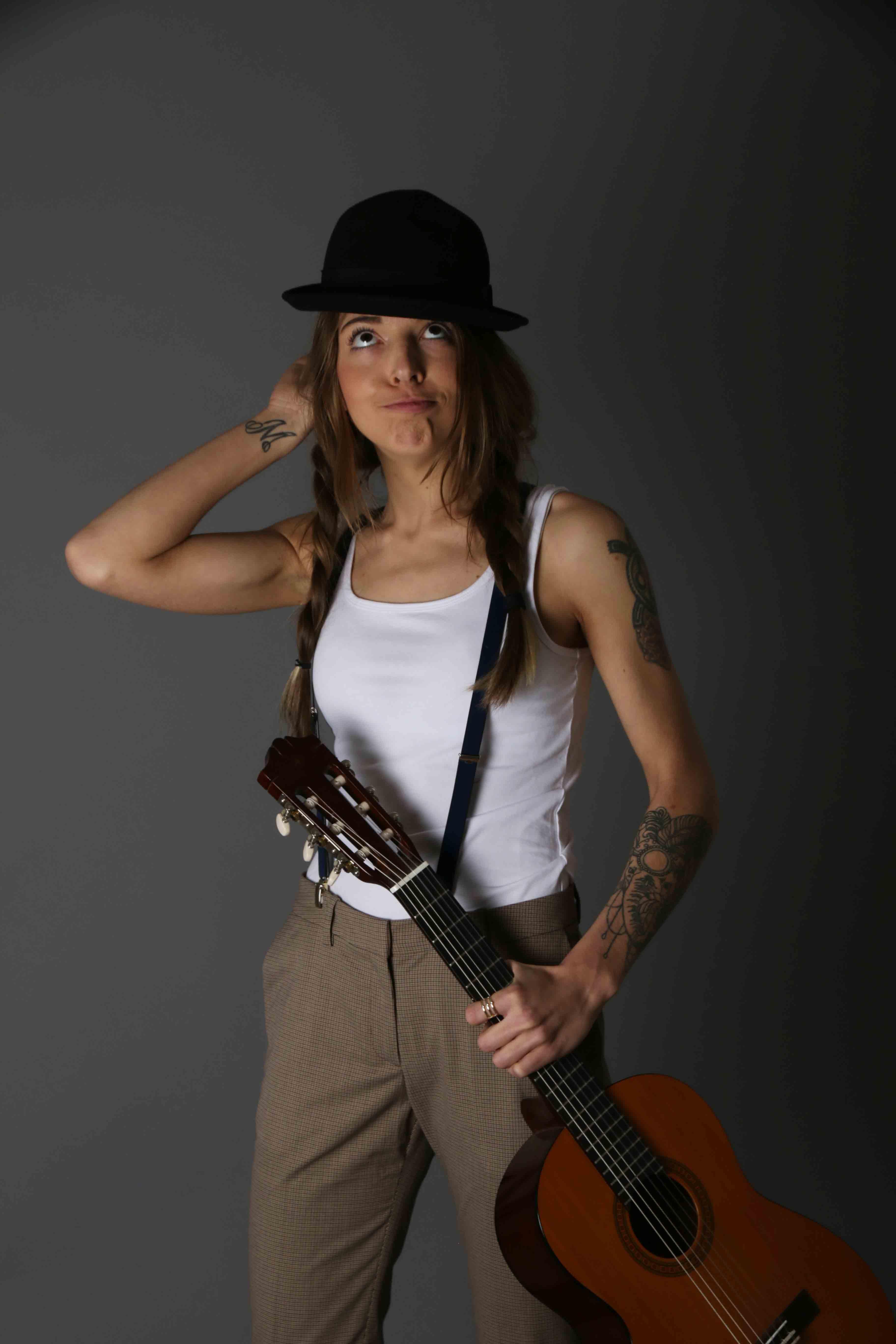 Model Gitarre