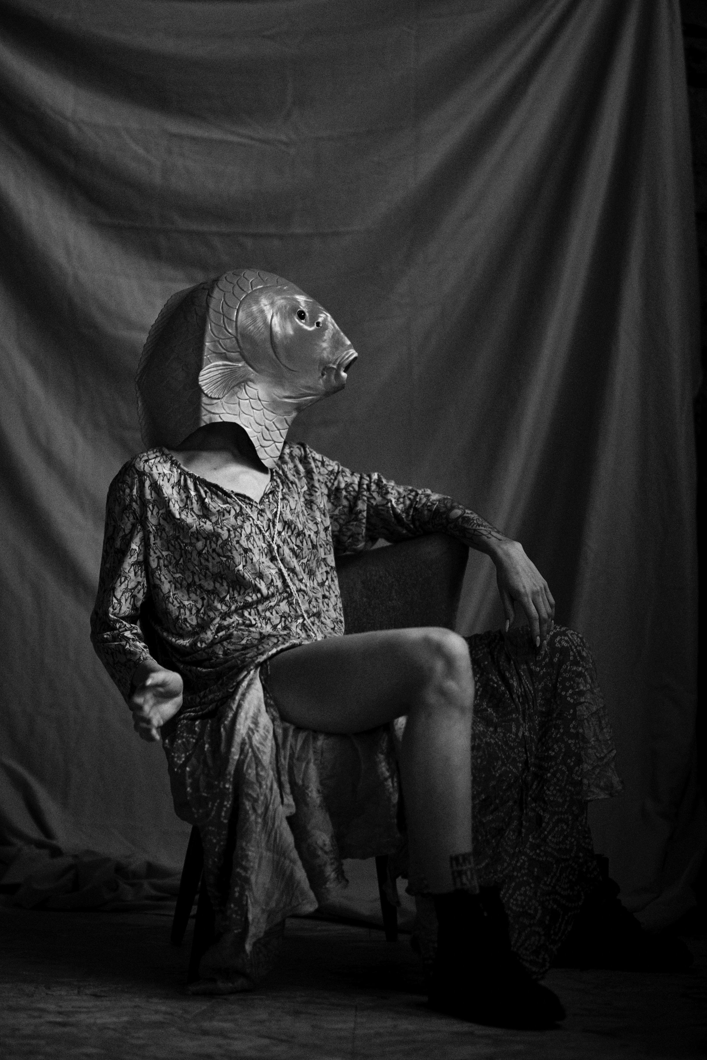 Model Kasia Balou und Fotograf Joschka Link