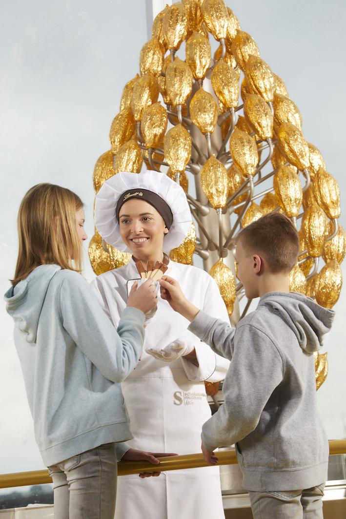 Kasia Balou im Schokoladenmuseum Köln